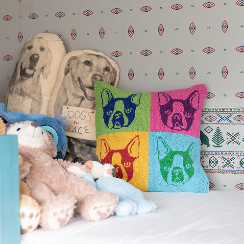 PEKING HANDICRAFT | POP ART FRENCH BULLDOG