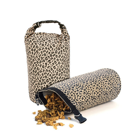 Harry Barker | LEOPARD TRAVEL DOG FOOD STRAGE BAG