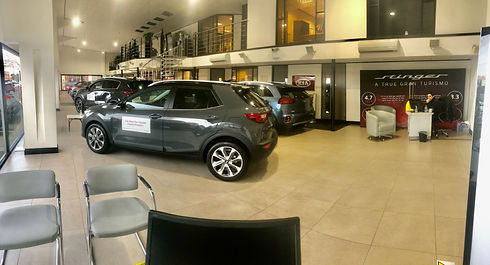 Gatwick Kia showroom 2020