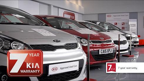 7 year warranty on Kia cars