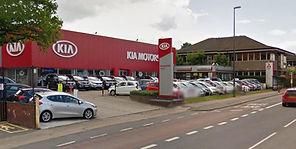 Gatwick Kia and Gatwick Mitsubishi dealership external