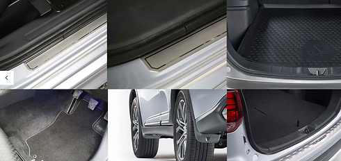 Accessory protection pack on Outlander PHEV