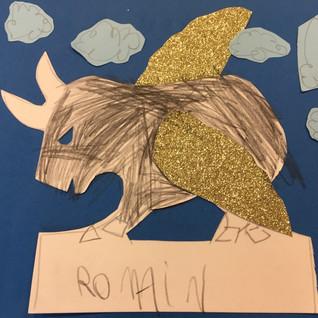 Romain, 5 ans