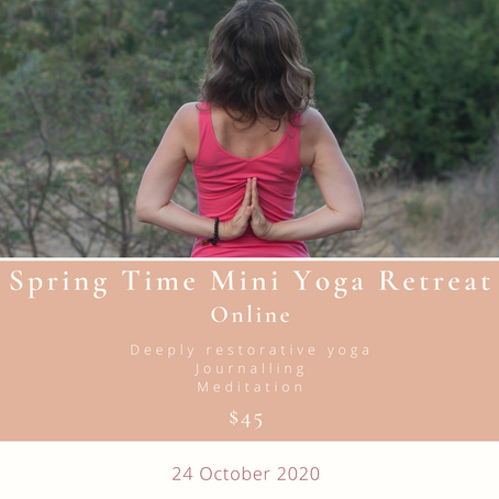 Spring Time Mini Yoga Retreat