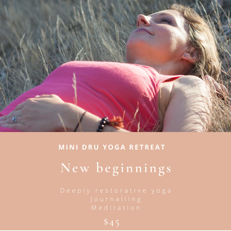 New Beginnings Mini Yoga Retreat