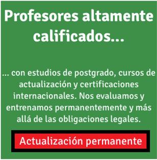 Bachilleres Experimental Mixta: profesores altamente calificados