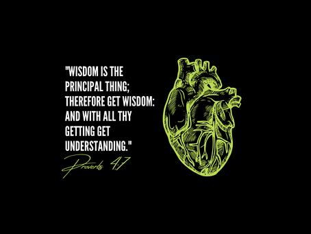 Wisdom - The Principal Thing