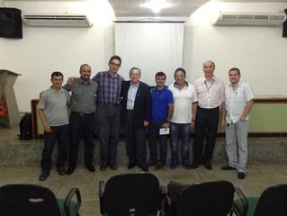 Parceria firmada com a maior fabricante de relés do mundo e reunião de apresentação com SINDUSCON AP