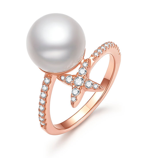 Clover Ring Rosegold