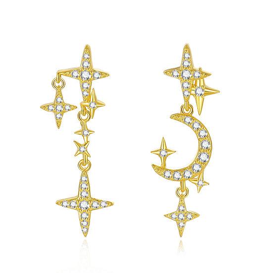 Stars Earring Gold