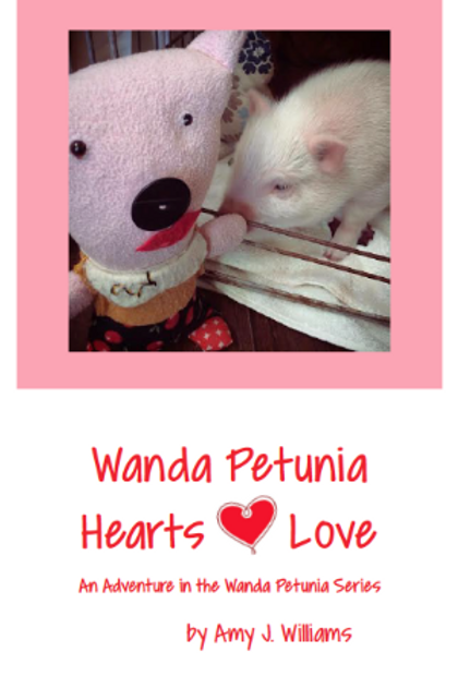 """""""Wanda Petunia Hearts Love"""""""