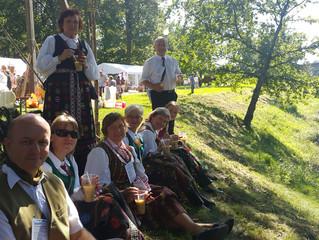 """Skriaudžių """"Kanklės"""" - tarptautiniame folkloro festivalyje """"Ant vandens"""""""
