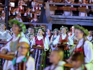 """""""Kankliukai"""" Moksleivių dainų šventėje 2016"""