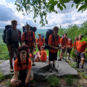 Philmont Shakedown Backpacking Trip #3 - Black Forest Trails