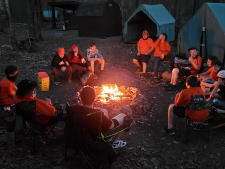 Beaver Day Summer Camp Set up at Camp Trexler