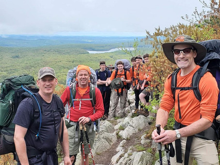 Philmont Shakedown Backpacking Trip # 2 - Appalachian Trail