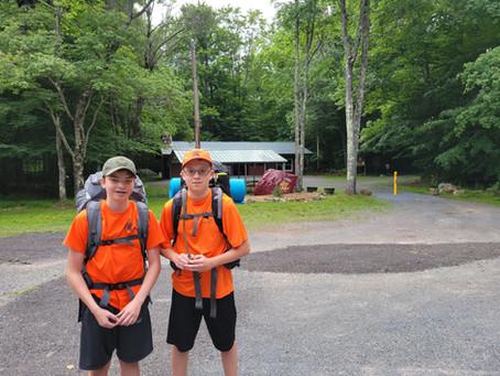 Camp Minsi Camping Trip