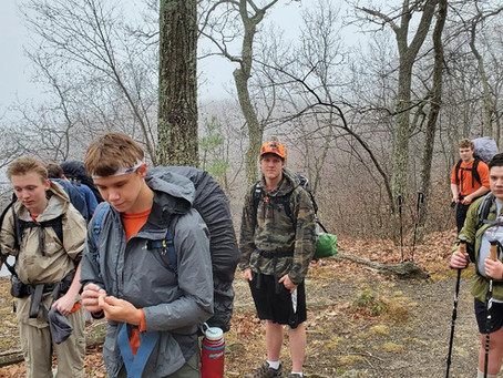 Philmont Shakedown Backpacking Trip #1 - Appalachian Trail
