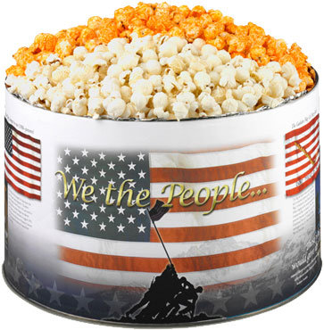 Cheese Popcorn Tin (Patriot)