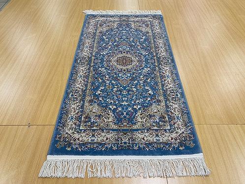 Исфахан 4824B голубой/ивори