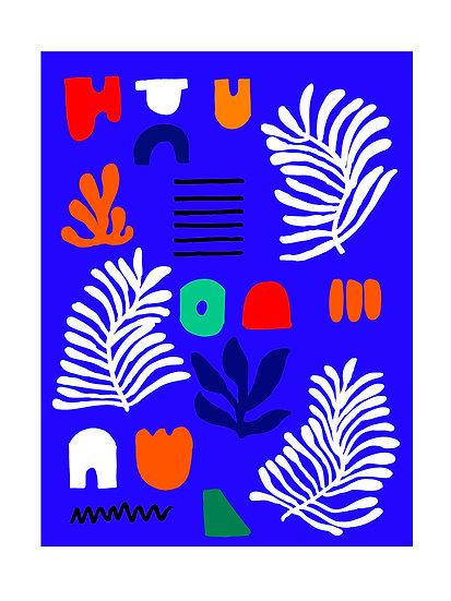Botanical Shapes Print