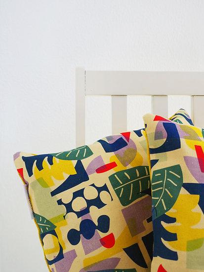 Palm Mustard Pillow Case