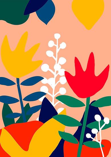 Tulips Print