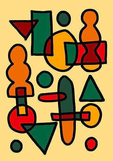 Autumn Pattern Print