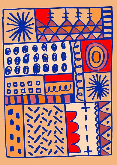 Rose Pattern Print