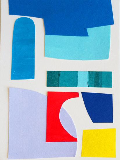 Collage Lavander