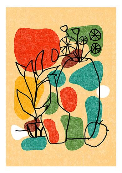Flower Pot II Print