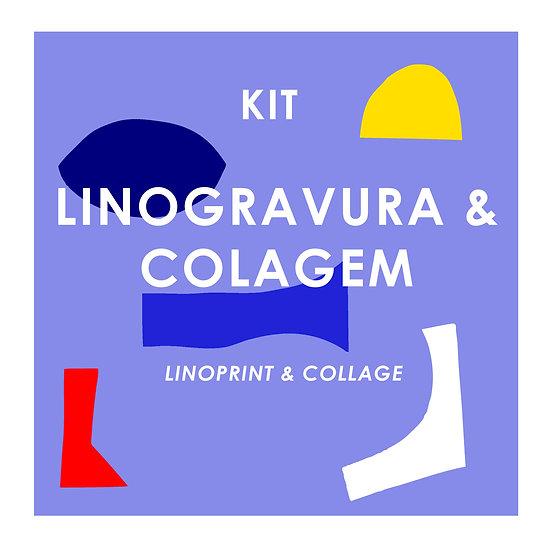 Kit Linoprint & Collage