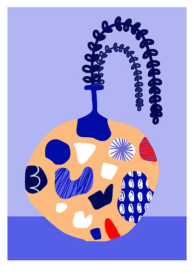 Vase I Print