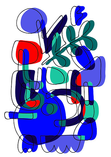 Fern & Moss Vase