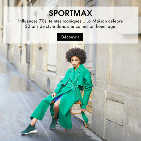 The Anniversary Collection of Sportmax Now on 24s.com