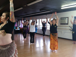 Your First Belly Dance Class!