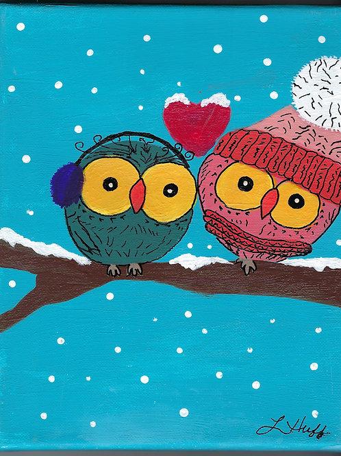 Whimsical Owls