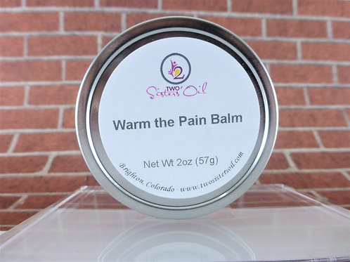Warm the Pain Balm