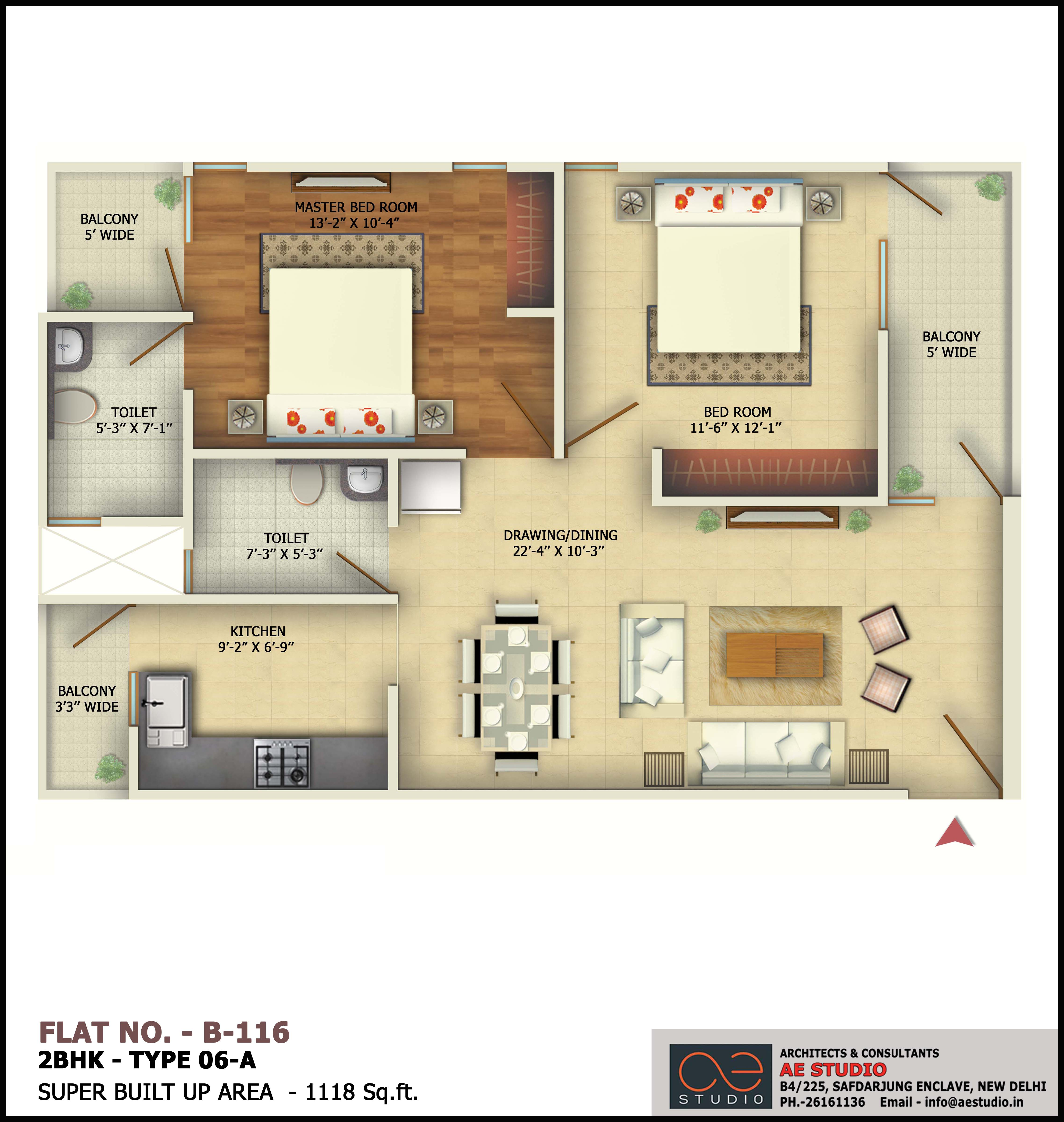 2BHK-TYPE-06-A