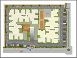 KOYAL ENCLAVE 7-B SITE PLAN_club plan