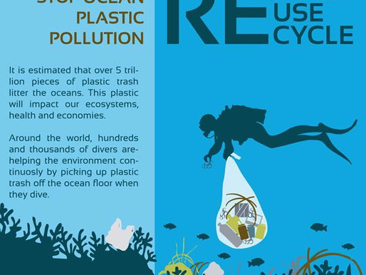 Reduce, Reuse, Recycle | Stop Ocean Plastic Pollution