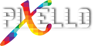 Pixello Design Logo