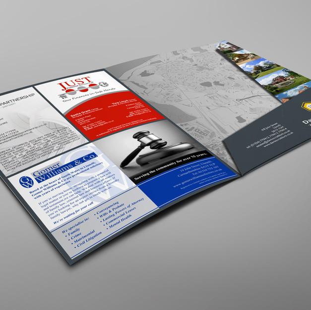 Davies CraddockA4 Presentation Folder