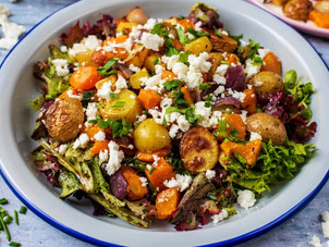 Izgara Kış Salatası