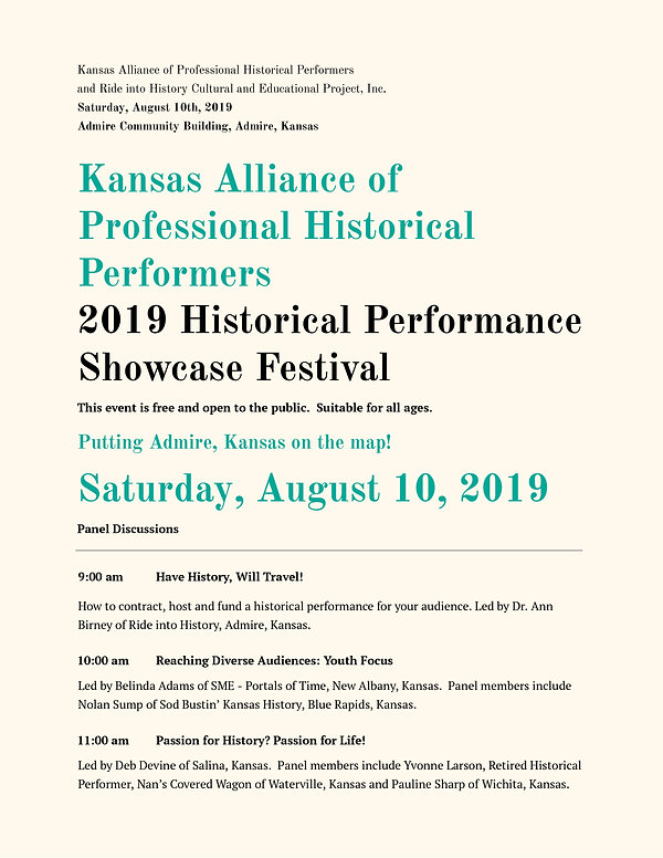 Historical Performance Conference and Sh