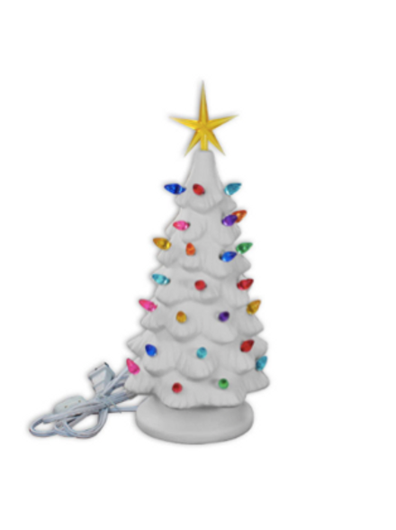 Medium Lighted Christmas Tree