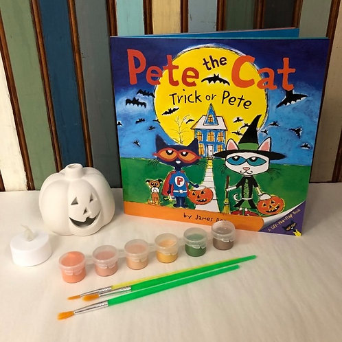 PRE-ORDER Once Upon a Paint Brush: Pete the Cat Trick or Pete
