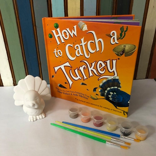 PRE-ORDER Once Upon a Paint Brush: How to Catch a Turkey