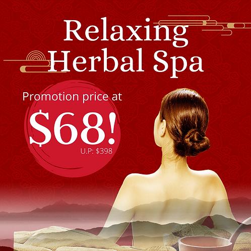 Herbal Spa $68