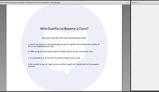 Board 101: Basic Legal Responsibilities of an Ohio Nonprofit Board Member